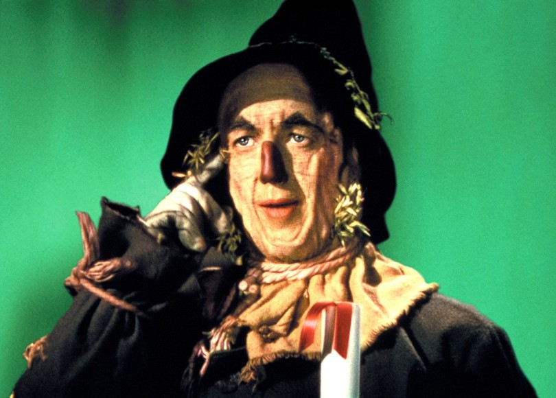 The Scarecrow thinks ahead