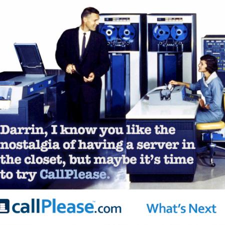 CallPlease is cloud-based
