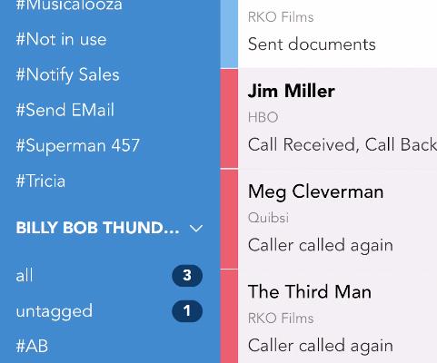 app call log list